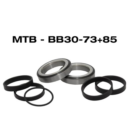 B.O.R. MTB Bearing Kit BB30 + BB85 Specialized Innenlager BB30-73 mm / BB85 (Specialized)