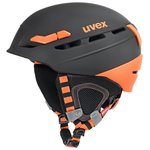 Uvex uvex p.8000 tour Helm 2018 black-orange mat 55-59 cm